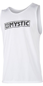 2020 Mystic Star Loosefit Quick Dry Tank Top White 180108