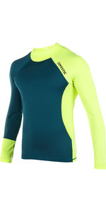 2019 Mystic Crossfire Long Sleeve Rashvest Lime 180110