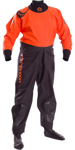 2020 Typhoon Junior Rookie Drysuit Black / Orange 100171