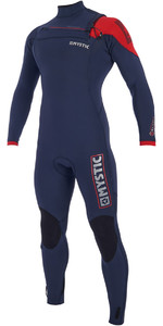 2019 Mystic Majestic 3/2mm Wetsuit Met Chest Zip Navy