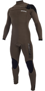 2019 Wetsuit Majestoso Mystic Zip Peito 4 / 3mm Dark Olive 190002