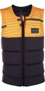 2019 Mystic Marshall Zip-vest Wake Impact Vest Zwart 1900126