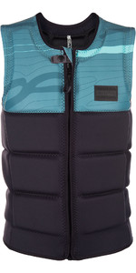 2019 Mystic Marshall Front Zip Wake Impact Vest Mint 1900126