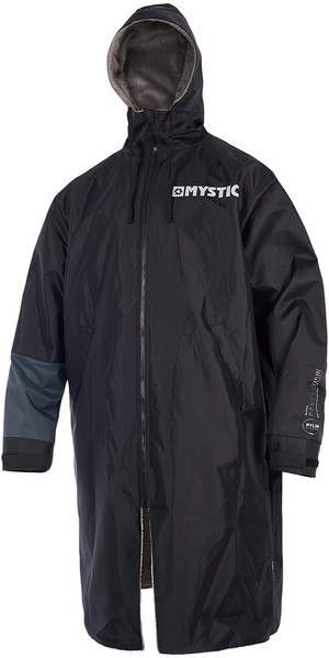 2019 Mystic Deluxe Udforsk Poncho / Change Robe Black 190050