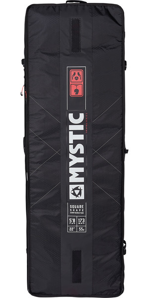 2019 Mystic Gearbox Square Board Bag 1.75M Black 190057