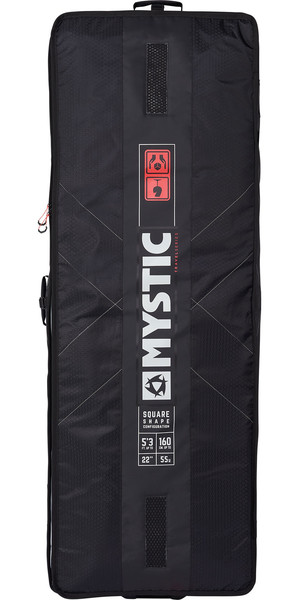 2019 Mystic Matrix Square Board Bag 1.65M Black 190059