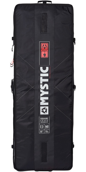 2018 Mystic Matrix Square Board Bag 1.45M Nero 190059