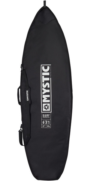 2019 Mystic Star Surf Kite Board Bag 5'8 Nero 190064