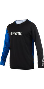 2019 Mystic Drip Mens Long Sleeve Loosefit Quick Dry Rash Vest Blue 190095