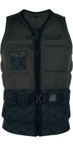 2019 Mystic Supreme Front Zip Impact Impact Vest Donker Olive 190124