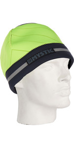 2019 Mystic 2mm Neoprene Reflective Beanie Flash Yellow 190178