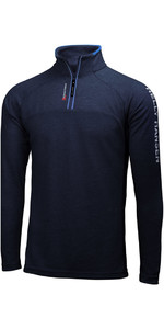 2019 Helly Hansen 1/2 Zip Pullover Tecnica Navy 54213