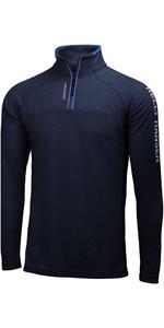 2019 Helly Hansen 1/2 Zip Technischer Pullover Marine 54213