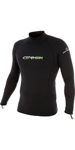 2020 Typhoon Thermafleece Manga Larga En Negro 200300