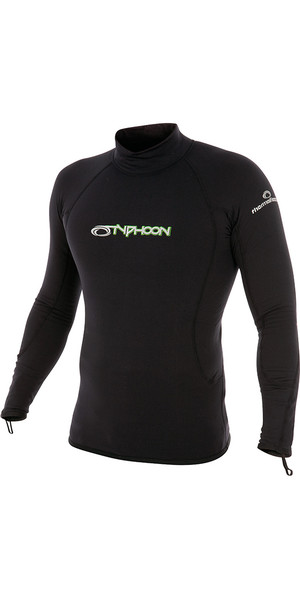 2018 Typhoon ThermaFleece Long Sleeve in Black 200300