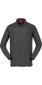 Musto Evolution Sunblock Long Sleeve Polo Top Carbon SE0254
