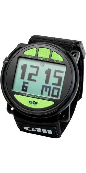2019 Gill Regatta Race Timer horloge ZWART lime toetsen W014