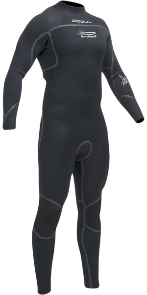 Gul Flexor III 3/2mm GBS Back Zip Wetsuit BLACK FX1208-A9