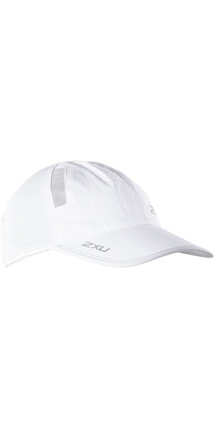 2018 2XU Run Cap Blanco UR1188F