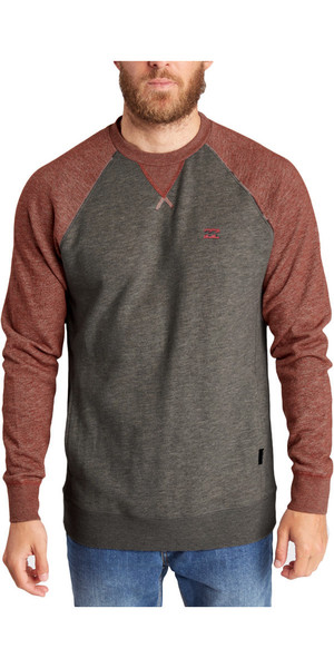 Billabong Balance Crew Sweat BRICK Z1FL03