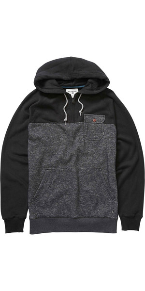 Billabong Balance Half Zip Kapuzenpulli BLACK HEATHER Z1FL08