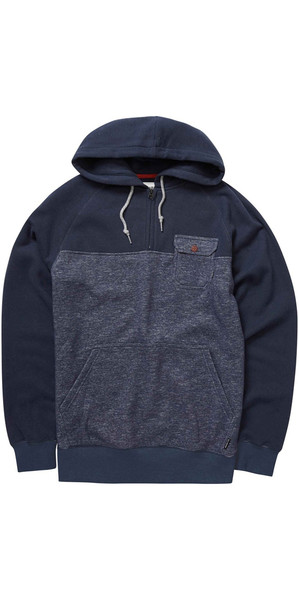 Billabong Balance Half Zip Kapuzenpulli NAVY HEATHER Z1FL08