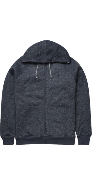 Billabong Balance Sherpa Zip Hoody NAVY HEATHER Z1FL15