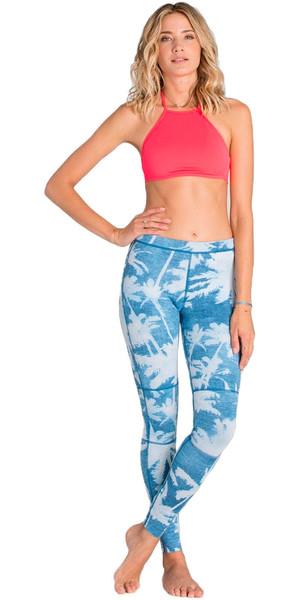 Billabong Mesdames 1mm Skinny Sea Legs / combinaisons de plongée pantalon INDIGO Z41G04