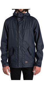Billabong Pole Jam Rubberized Waterproof Jacket NAVY Z1JK19