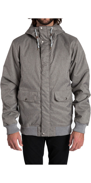 Billabong Rainy Day Jacket GREY HEATHER Z1JK25