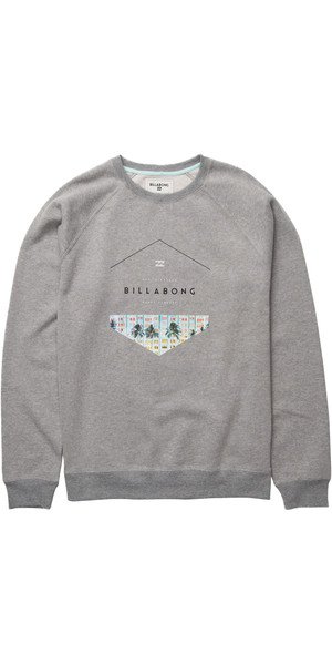 Billabong Split Hex Crew Sudadera GREY HEATHER Z1CR03