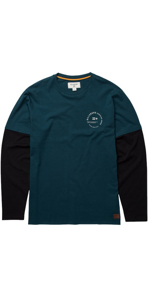 Billabong Surplus Long Sleeve T-Shirt DEEP SEA Z1JE12