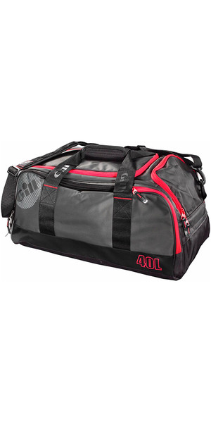2019 Gill 40L Compact Bag Dark Grey / Red Detail L060