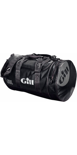2018 Gill 60L Tarp Barrel Bag Jet Black L061