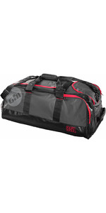2019 Gill 85L Cargo Bag Donkergrijs / Red Detail L059