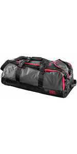 2019 Gill 95L Rolling Cargo Bag Dunkelgrau / Rot Detail L067