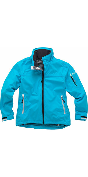 2018 Gill Junior Crew Jacke in Blau 1041J