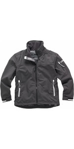 Gill Junior Crew Jacket in Graphite 1041J