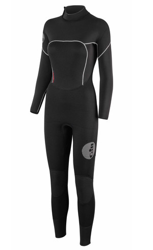 2019 Gill Womens Thermoskin 5 / 3mm GBS Dinghy Wetsuit i sort 4609W