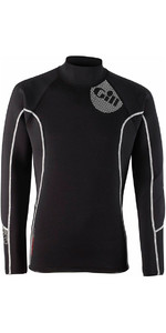 2019 Gill Junior 2.5mm THERMOSKIN Neoprene de manga comprida TOP Black 4616J