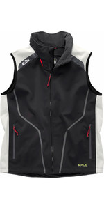 Gill Race Kollektion Softshell Gilet Graphit / Silber RC018