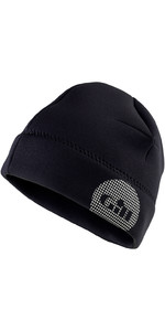 2019 Gill Thermoskin 2,5 mm Neopren Beanie i Sort 4524