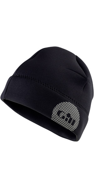 2019 Gill Thermoskin 2,5 mm neopreen beanie in zwart 4524