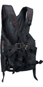 2019 Gul Stokes Trapeze Harness Black Gm0225