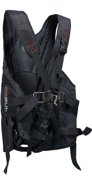 2018 Gul Junior Stokes Trapez Harness in Schwarz GM0225