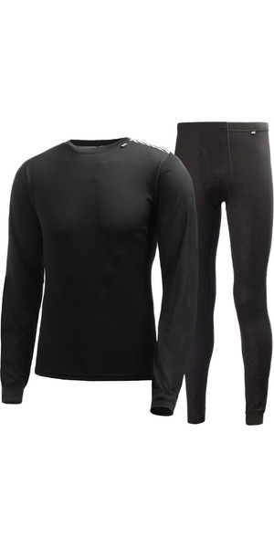 2019 Helly Hansen COMFORT DRY 2-PACK Base Layer NERO 48676