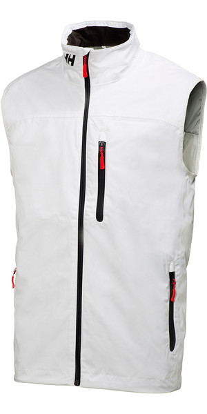 2018 Helly Hansen Crew Midlayer Vest White 30341