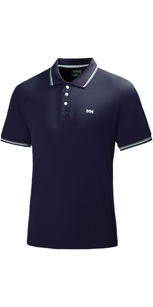 2019 Helly Hansen Kos Polo manica corta in NAVY 50565