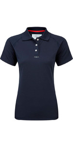 2018 Henri Lloyd Womens Fast Dry Polo T-shirt in MARINE Y30279