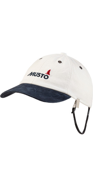 2019 Musto Evo Original Crew Cap Antique Sail Blanco AE0191